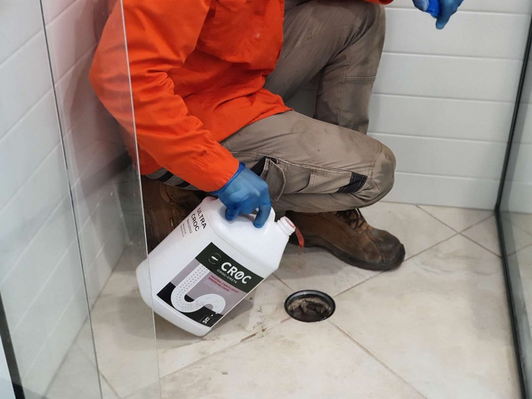 HOW TO REMOVE CONCRETE FROM DRAIN PIPES